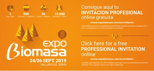 Expo Biomasa 2019 - Digital Invitation