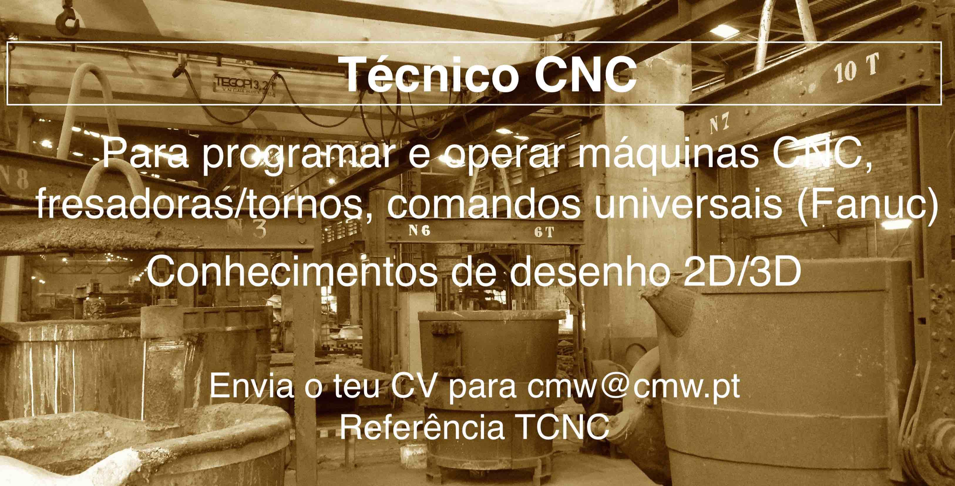 Oferta de Emprego CNC