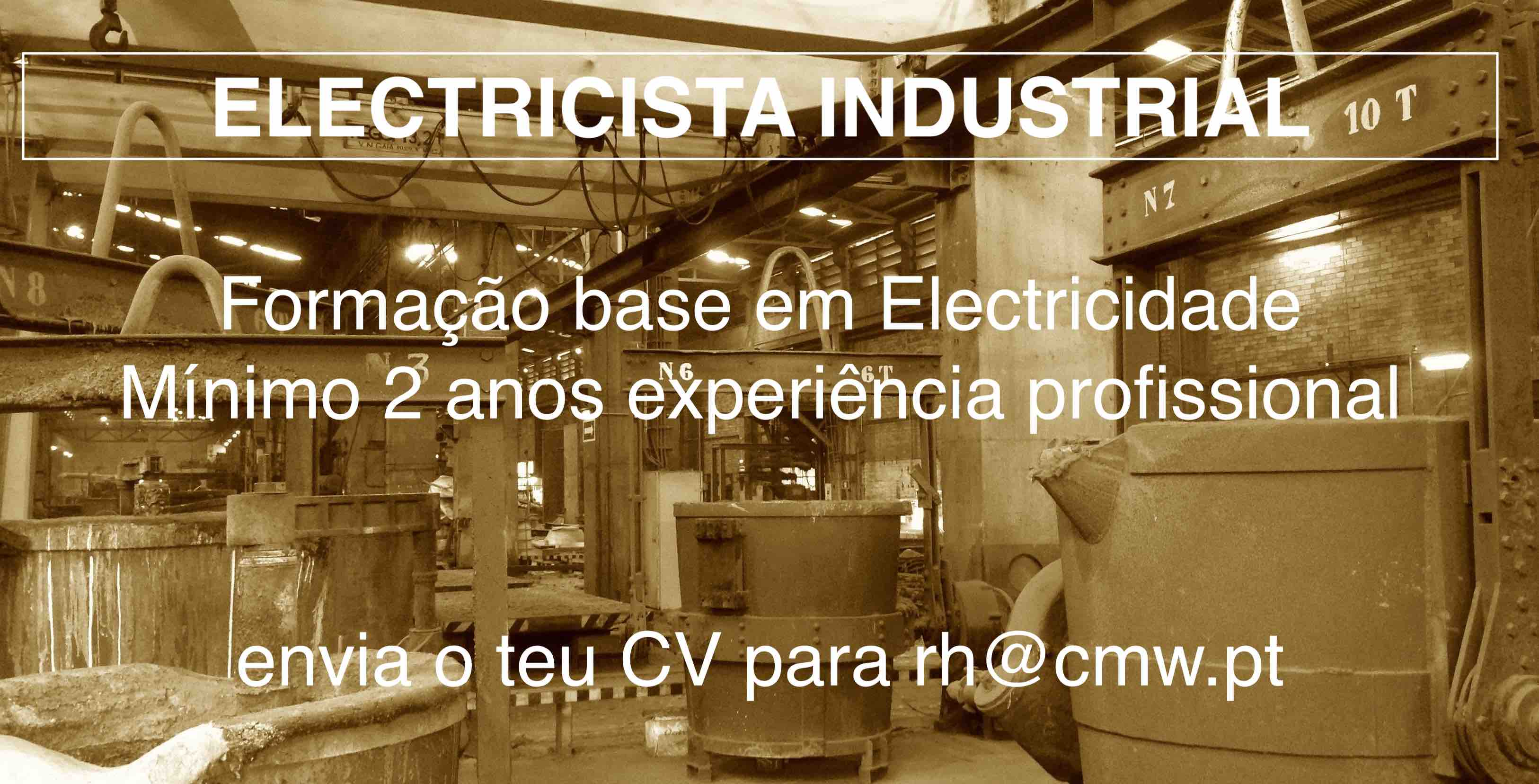 Job Offer Maintenance - Electrician